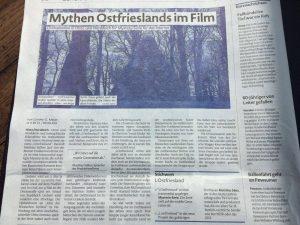 """Günther Gerhard Meyer: """"Mythen Ostfrieslands im Film"""" . In: Emder Zeitung vom 28. April 2016. S 10"""