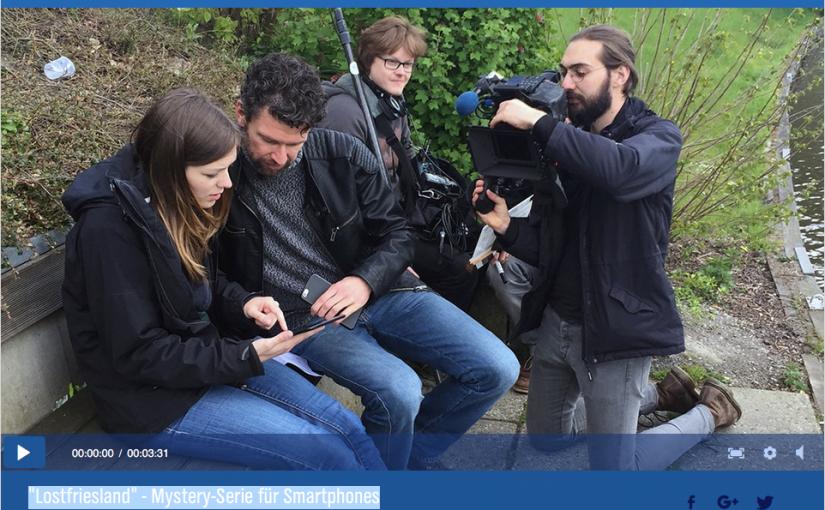 """""""Lostfriesland"""" – Mystery-Serie für Smartphones"""